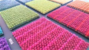 Teppich grün