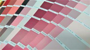 neu Farbflächer rosa