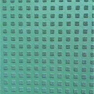 neu dunkelgrünes vlies quadrat